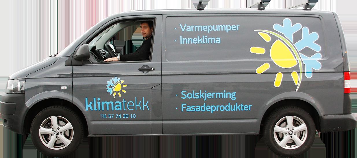 Klimatekk Florø bil